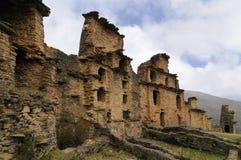 Peru, Piruro pre Columbian ruins near Tantamayo Stock Photography