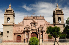 Peru, Plaza de Armas in Ayacucho, Stock Photos