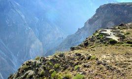 Peru - quadrado da observação Imagens de Stock Royalty Free