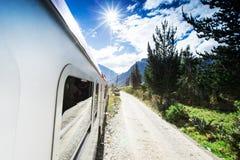 Peru Rail from Cuzco Stock Photo