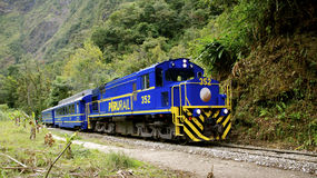 Peru Rail Royalty Free Stock Photography