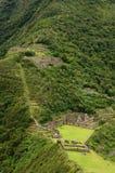 Peru, remote Inca ruins of Choquequirau near Cuzco Stock Photos