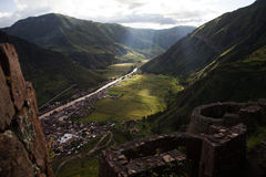 Peru Sacred Valley imagem de stock royalty free
