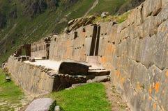 Peru, Sacred Valley, Ollantaytambo Inca fortress Royalty Free Stock Image