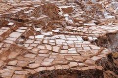 Peru, Sacred Valley, Salt mine in Maras Stock Photos