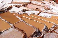 Peru, Sacred Valley, Traditional salt mine stock images