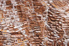 Peru, Sacred Valley, Traditional salt mine Royalty Free Stock Images