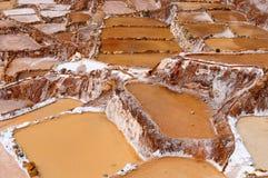 Peru, Sacred Valley, Traditional salt mine Stock Photo