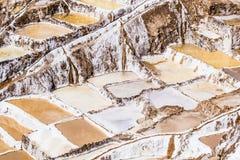 Peru, Salinas de Maras, Pre Inca traditional salt mine (salinas). Peru, Salinas de Maras, Pre Inca traditional salt mine (salinas stock image