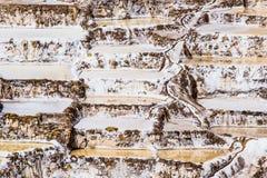 Peru, Salinas de Maras, Pre Inca traditional salt mine (salinas). Peru, Salinas de Maras, Pre Inca traditional salt mine (salinas royalty free stock photos