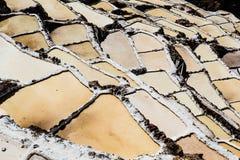 Peru, Salinas de Maras, Pre Inca traditional salt mine (salinas). Peru, Salinas de Maras, Pre Inca traditional salt mine (salinas stock photo