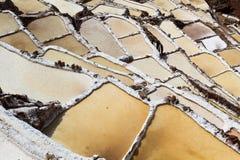 Peru, Salinas de Maras, Pre Inca traditional salt mine (salinas). Peru, Salinas de Maras, Pre Inca traditional salt mine (salinas stock photography