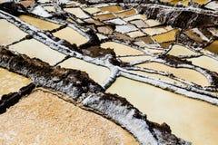 Peru, Salinas de Maras, Pre Inca traditional salt mine (salinas). Peru, Salinas de Maras, Pre Inca traditional salt mine (salinas royalty free stock photography