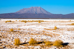 PERU, Salt Lake, mountain landscape Royalty Free Stock Photos