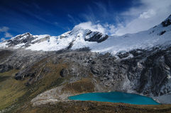 Peru, Santa Cruz Trek on the Cordillera Blanca Royalty Free Stock Images