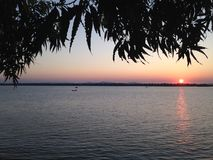 Peru Sunset foto de archivo libre de regalías