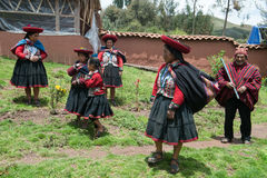 Peru, Traditionl Peruvian People, Travel Royalty Free Stock Photography
