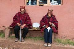 Peru Travel, Peruvian Culture, Men Stock Photography