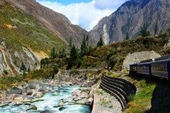 Peruanische Eisenbahn lizenzfreie stockfotos
