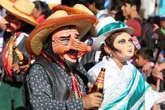 Peruanische Fiesta Lizenzfreies Stockbild