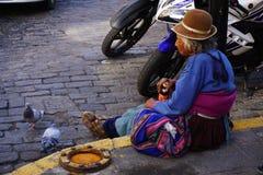 Peruanische Frau Stockbilder