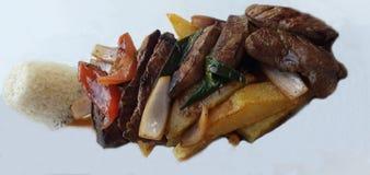 Peruanische Nahrung stockbild