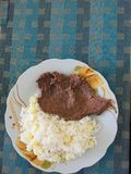 Peruanische Nahrung stockfotografie