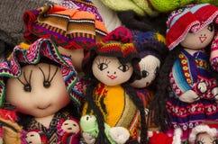 Peruanische Puppen Lizenzfreie Stockfotos