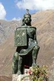 Peruanische Statue Lizenzfreie Stockbilder