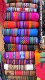 Peruanische traditionelle Webart Lizenzfreie Stockbilder