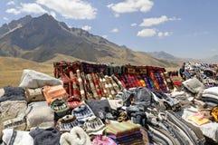 Peruanischer Markt stockfotos