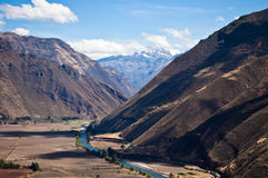 Peruanisches ladscape Stockfoto