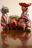 Peruanisches Weihnachten Lizenzfreies Stockbild