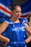 PeruanMarinera dansare arkivbild