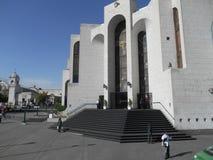 Peruansk domstolsbyggnad Royaltyfria Foton