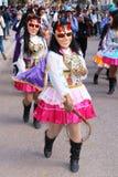 Peruansk fiesta Arkivfoto