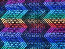 Peruansk hand - gjort Woolen tyg royaltyfria bilder