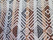 Peruansk hand - gjort Woolen tyg arkivbilder