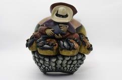 peruansk krukmakeri Arkivbilder