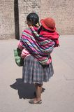 peruansk kvinna royaltyfri bild