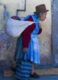 peruansk kvinna arkivbild