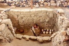 Peruansk mamma Arkivfoto
