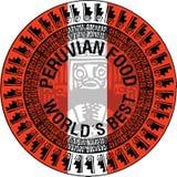 Peruansk matillustration Arkivfoton