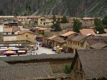 peruansk town Royaltyfri Foto