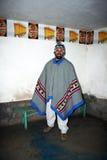 Peruansk turist Fotografering för Bildbyråer