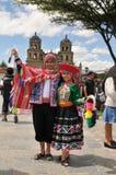 peruanska dansare Royaltyfria Foton