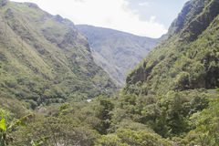 Peruanska högländer royaltyfri fotografi
