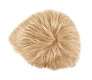 Peruca do cabelo isolada Fotos de Stock