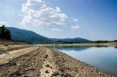 Perucko lake in Croatia Royalty Free Stock Images
