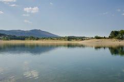 Perucko sjö i Kroatien Royaltyfria Bilder